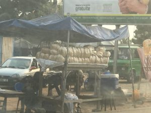 Fruit stand in Togo