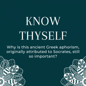 know thyself graphic